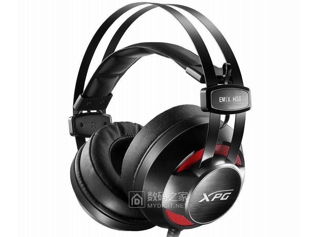 酷炫高规轻松克敌制胜 威刚EMIX H30电竞耳机+SOLOX F30耳机架