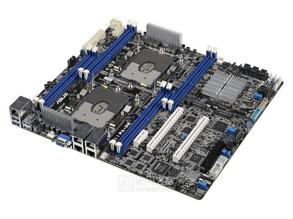 四千兆LAN+20组硬盘扩展 华硕发布Z11PA-D8服务器主板