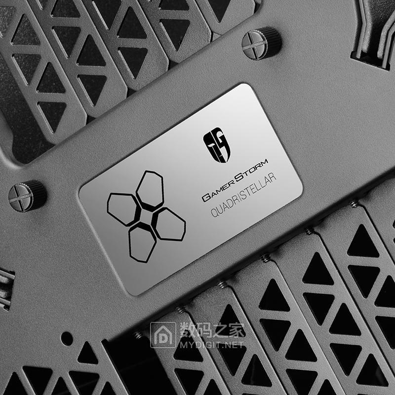 APP遥控灯饰+电动防尘盖 九州风神Quadstellar智能机箱正式发售