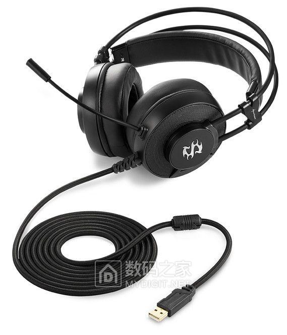 高弹力舒适头梁+动感自然音色 旋刚SKILLER SGH2准监听级游戏耳机