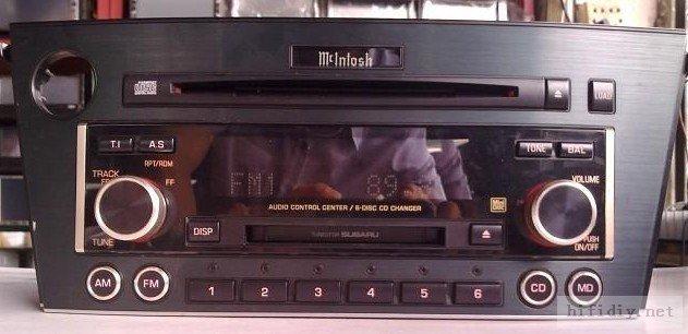 麦景图McIntosh…依然是世界顶尖音响之一(斯巴鲁后期麦景图6碟主机拆解鉴赏)