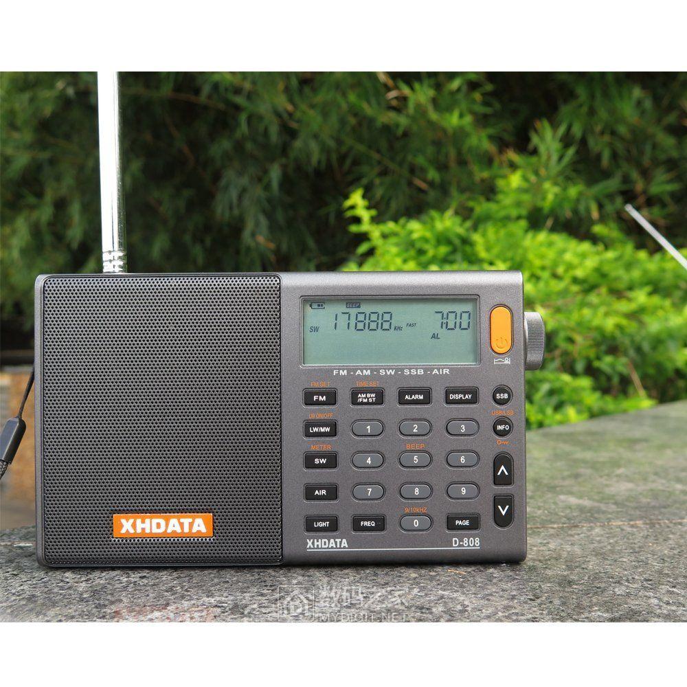 这个收音机看了有点心动!XHDATA D-808