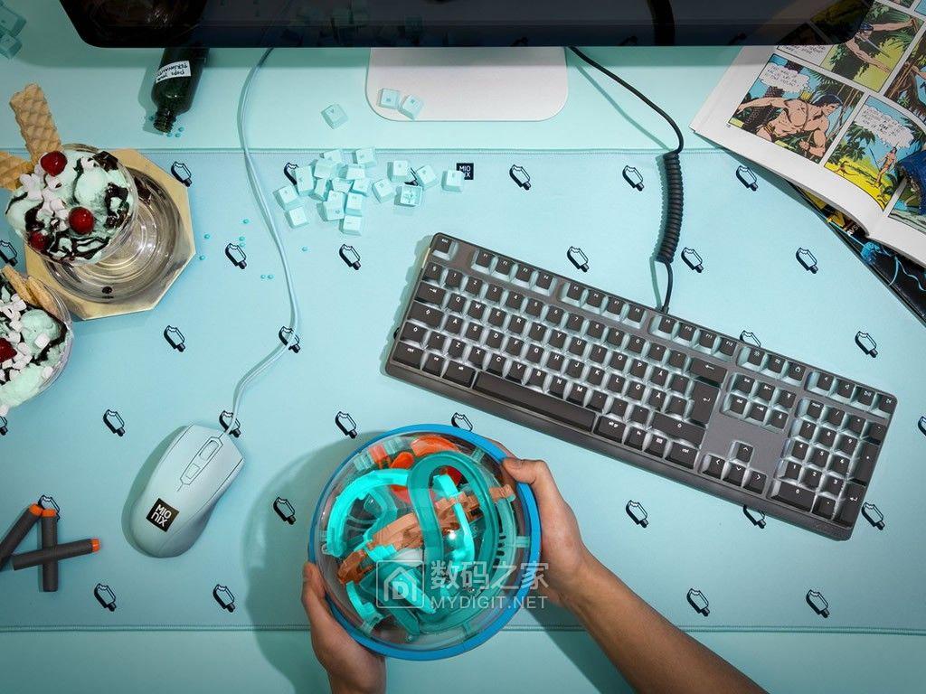 玩乐生活就该如此 瑞典Mionix新推彩色卡通系列鼠标毯