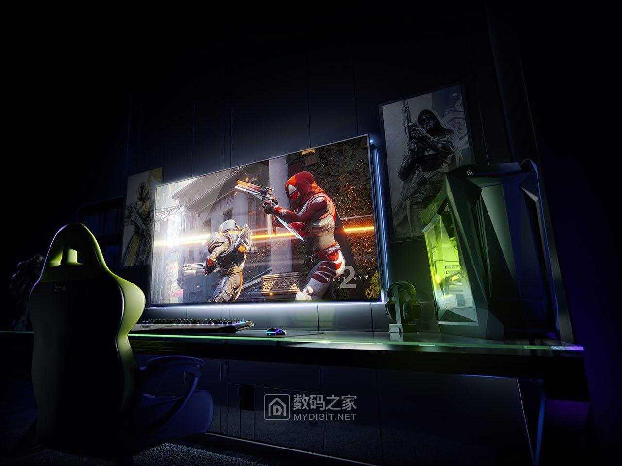 """英伟达公布电竞显示器新规范BFGD:最大65"""",支持G-SYNC HDR"""