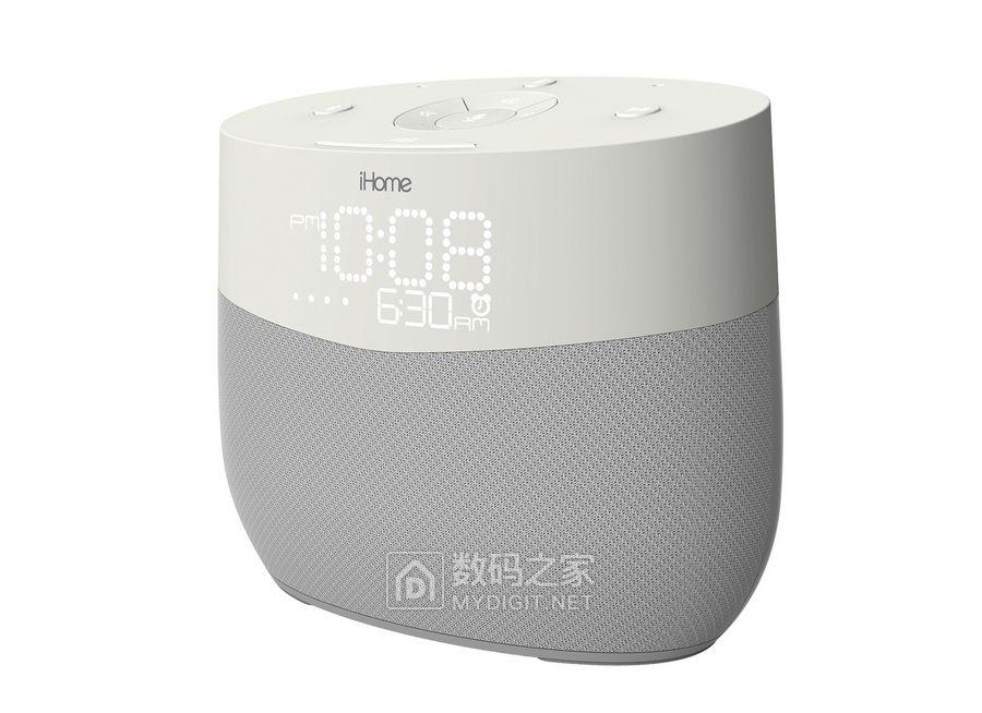 看似方便但细思极恐?iHome iGV1 智能床头闹钟发布,支持语音操作