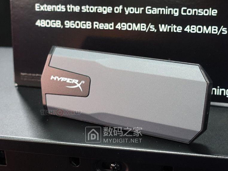 游戏机/笔电扩容新选 金士顿USB-C外置固态HyperX Savage EXO