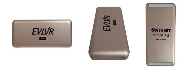 助力新技术普及 博帝发布EVLVR系列雷电3便携式固态硬盘