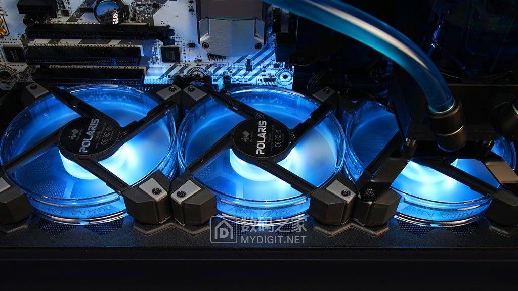 材质升级好玩好用 迎广幻彩铝框风扇POLARIS RGB Aluminium