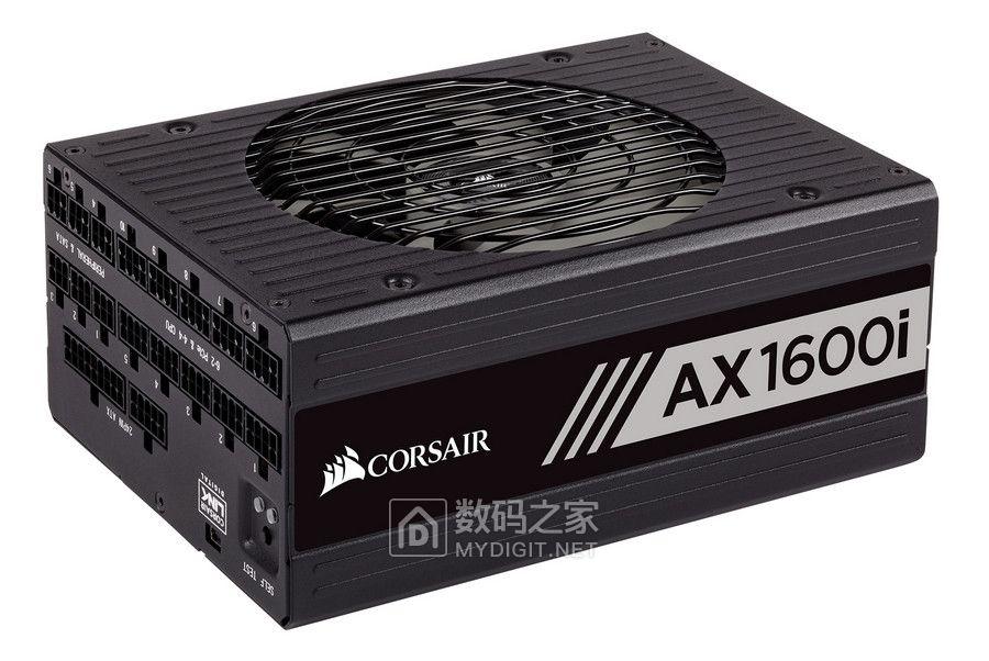 超钛金效率+紧致身材 海盗船展示顶级桌机电源AX1600i