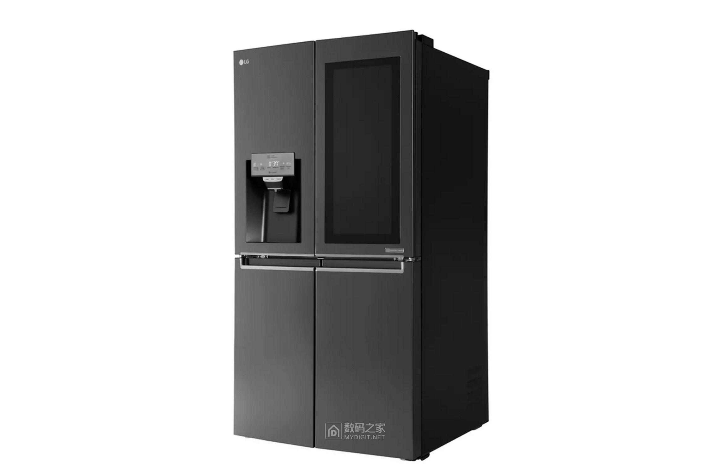 传统电视地位岌岌可危?LG新型智能冰箱自带多功能超大触屏