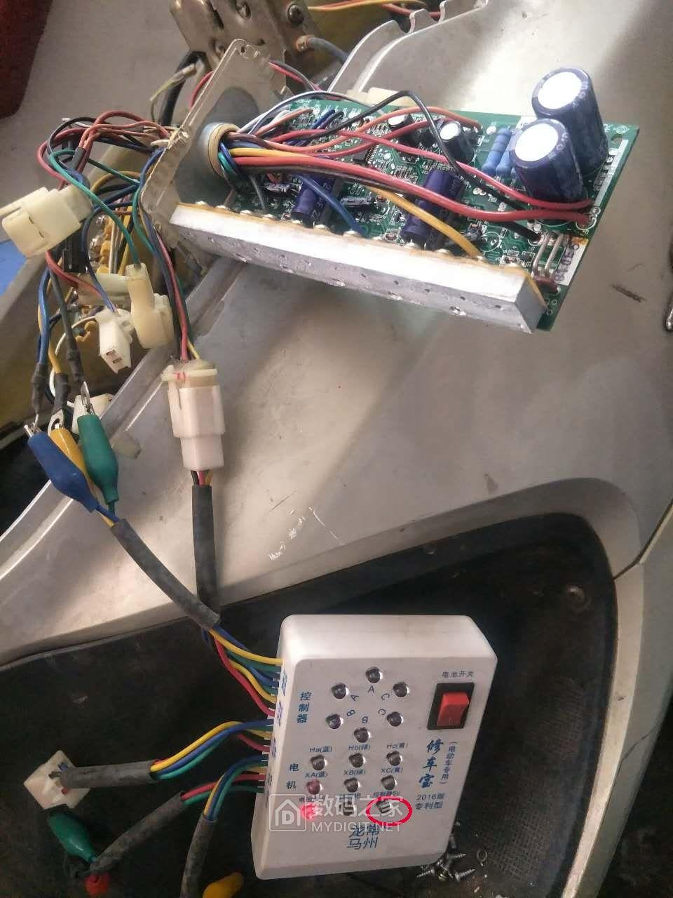 打起鼓来,敲起锣来哎,推着电车去上牌——电动车电机进水的处理续