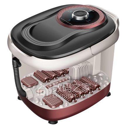 南极人 家用全自动加热按摩足浴盆 安全加热自动断电,智能开关颗粒按摩 特价99元包邮