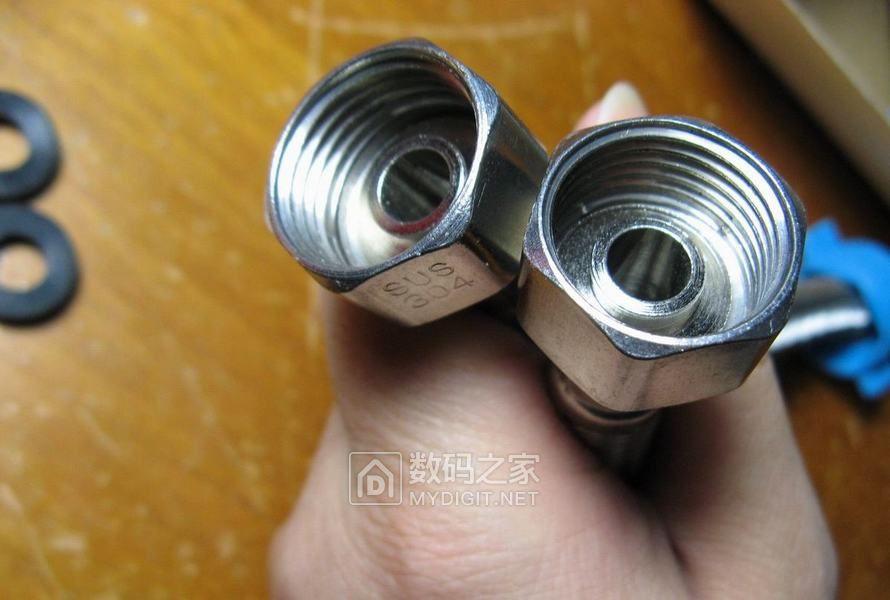 超多拆图!强烈推荐!用料厚实304不锈钢角阀 绝对超值! 角阀和不锈钢软管我都撸了!