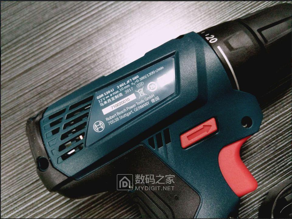 新人的博世(BOSCH)GSR 120-Li 单电版晒一晒