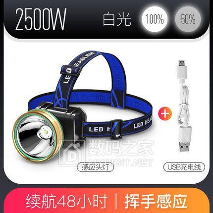 探露 LED充电式头灯250