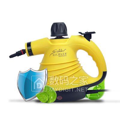 德国 Sichler 蒸汽清洁机 消毒 去污 除螨 挂烫 送配套配件 特价149元包邮