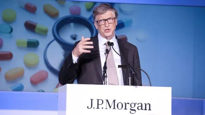 盖茨J.P.摩根健康大会演讲:生命科学研究可挽救数百万人的生命