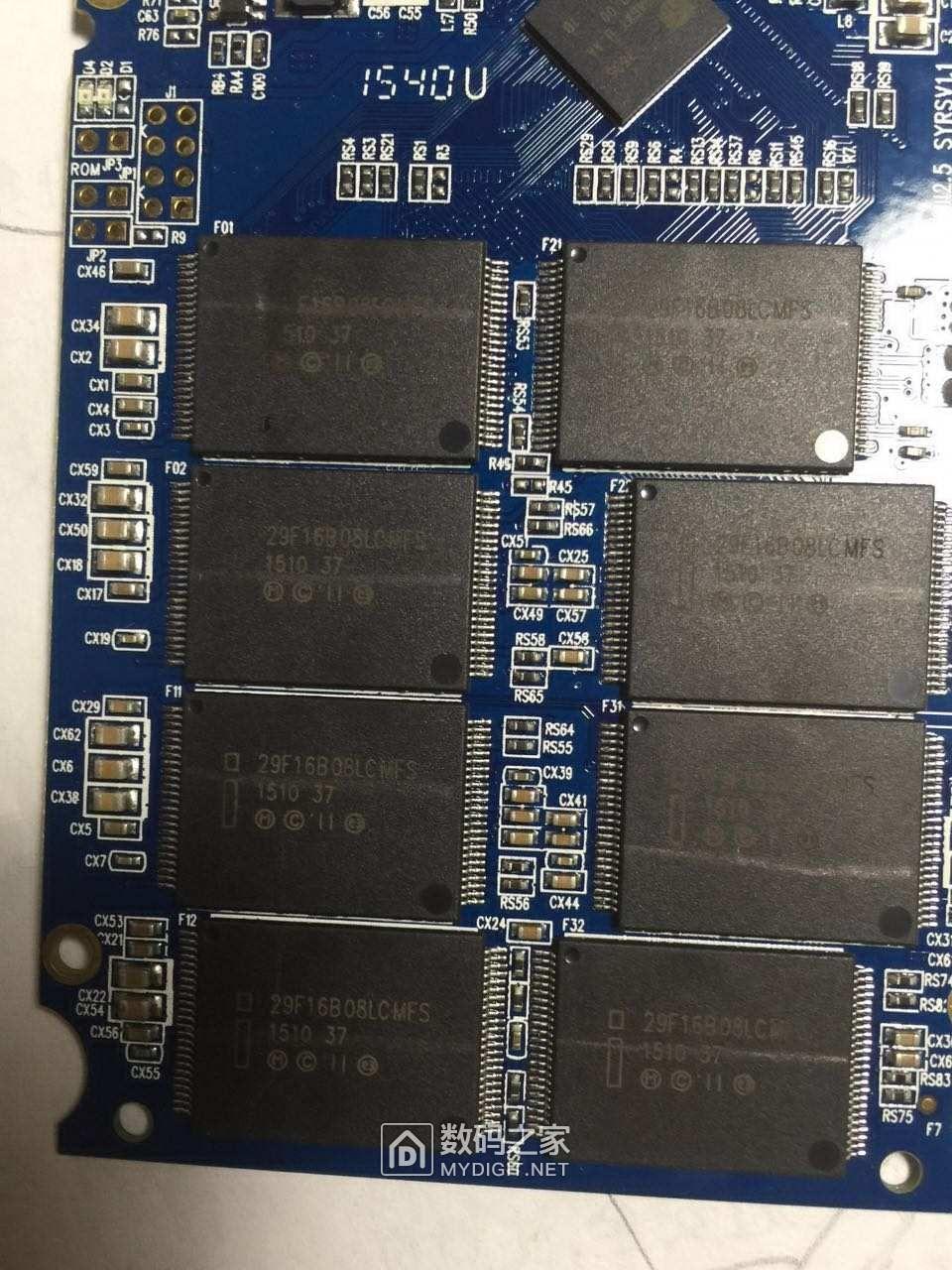 SM2246XT的板子拆掉芯片后不认