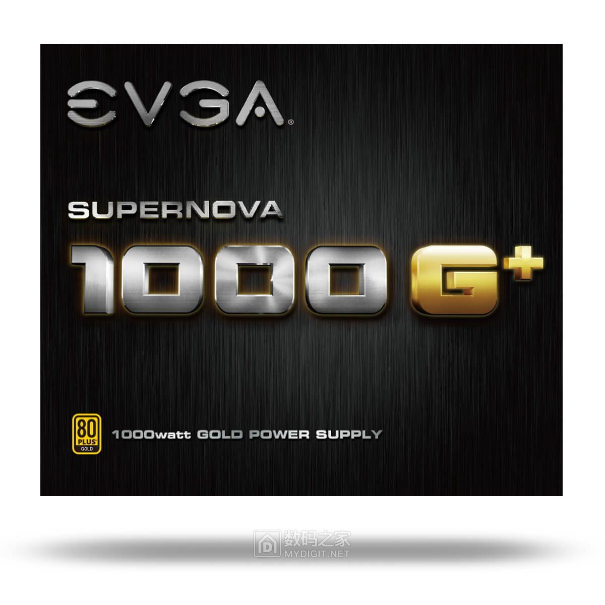 省空间销魂身材、纯净平稳供电 EVGA SuperNOVA G1+金牌全模电源