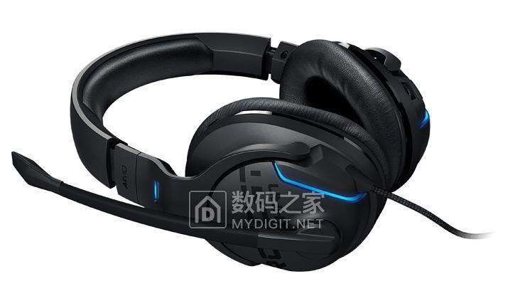10年质保+撩人歌喉 冰豹KHAN AIMO 7.1高分辨率 RGB 游戏耳机
