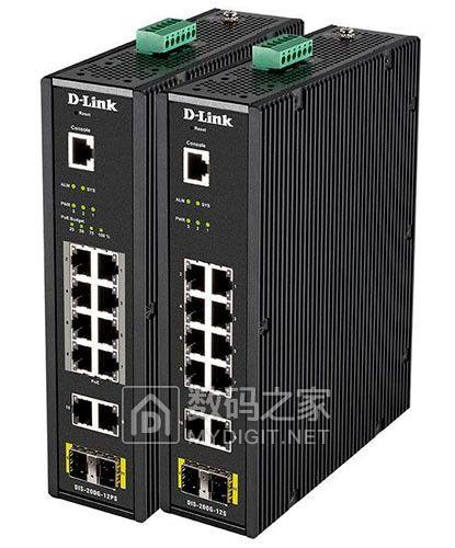 IP30密封铠甲、6kV电涌保护 友讯DIS-100G/200G工业级千兆交换机