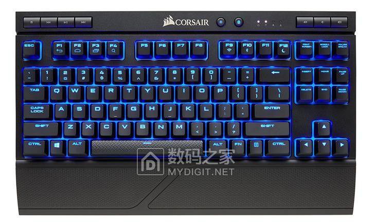 无拘无束随时迎战 海盗船正式推出无线版K63电竞械键盘