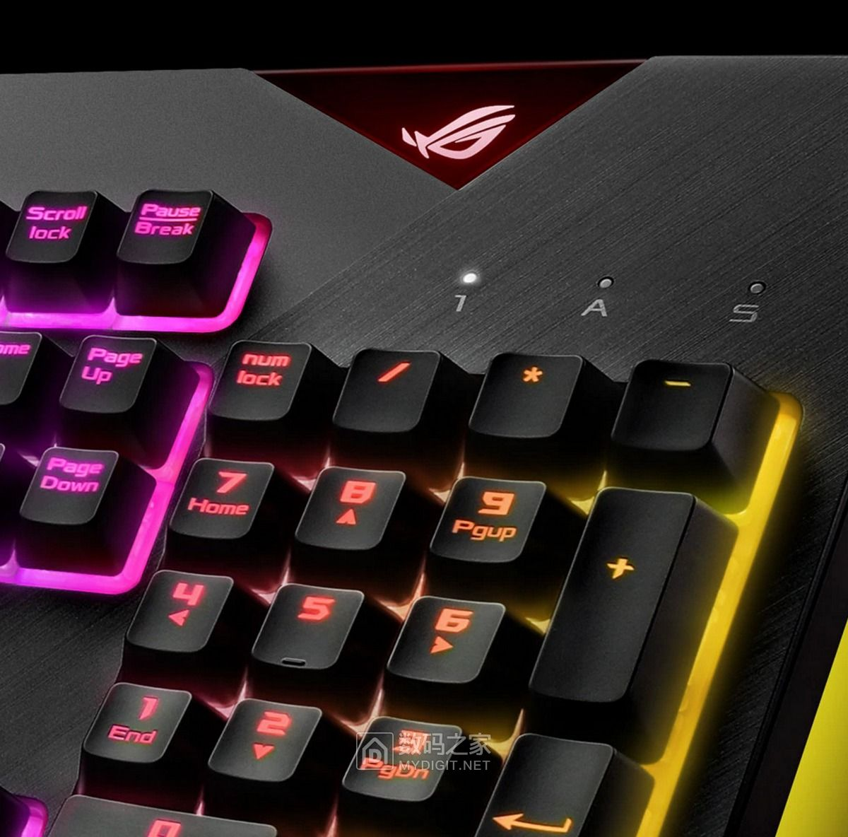 信仰粉努力攒钱吧 华硕最骚机械电竞键盘ROG Strix Flare即将发售