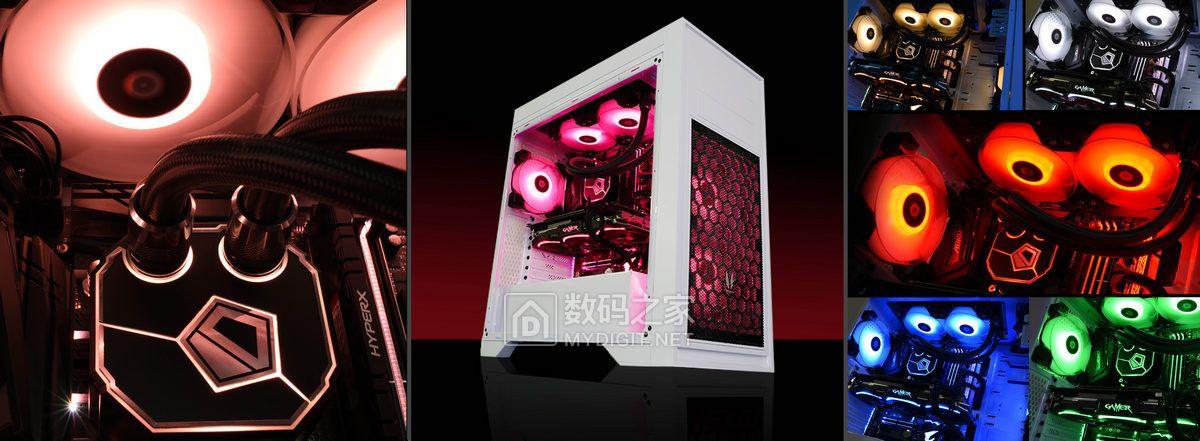 魔光灯效/强冷温控 ID-Cooling开年巨制DASHFLOW 240一体水冷散热