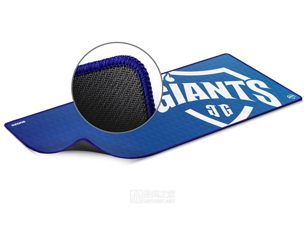 """马拉松式游戏必备 """"臭氧""""Giants Pro/EVO祖传级电竞鼠标毯"""