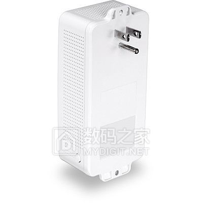 专注低成本家庭组网 趋势网络Powerline 200 AV PoE+供电模块