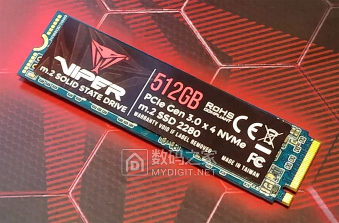 群联E12主控,彻底抛弃128G 博帝展示全新Viper系列高规固态盘