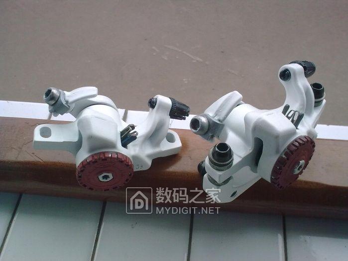 这些年拆修过的自行车零部件