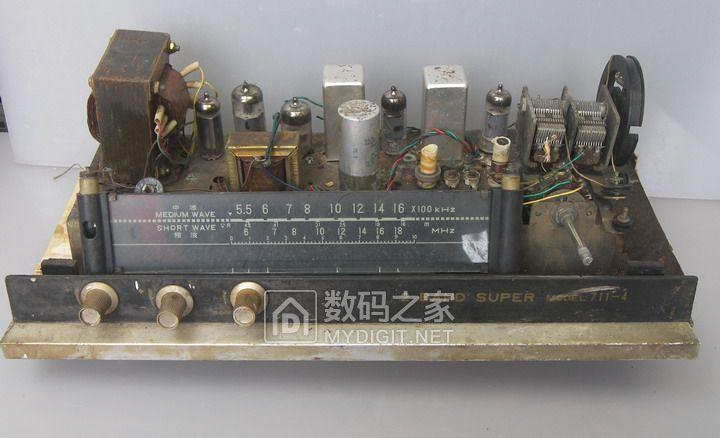 处理电子管机器和机芯