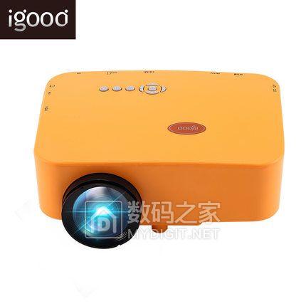 Igood 手机无线便携式迷你高清投影仪,1080P投影,画面清晰,促销299元包邮