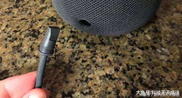 网友发现HomePod电源线原来可以轻易拆除