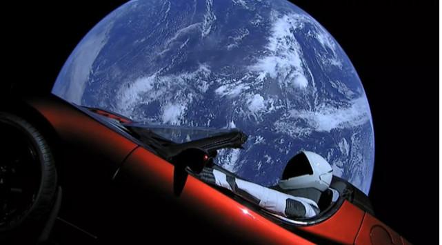 马斯克太空跑车终极命运猜想 或坠入火星造成污染