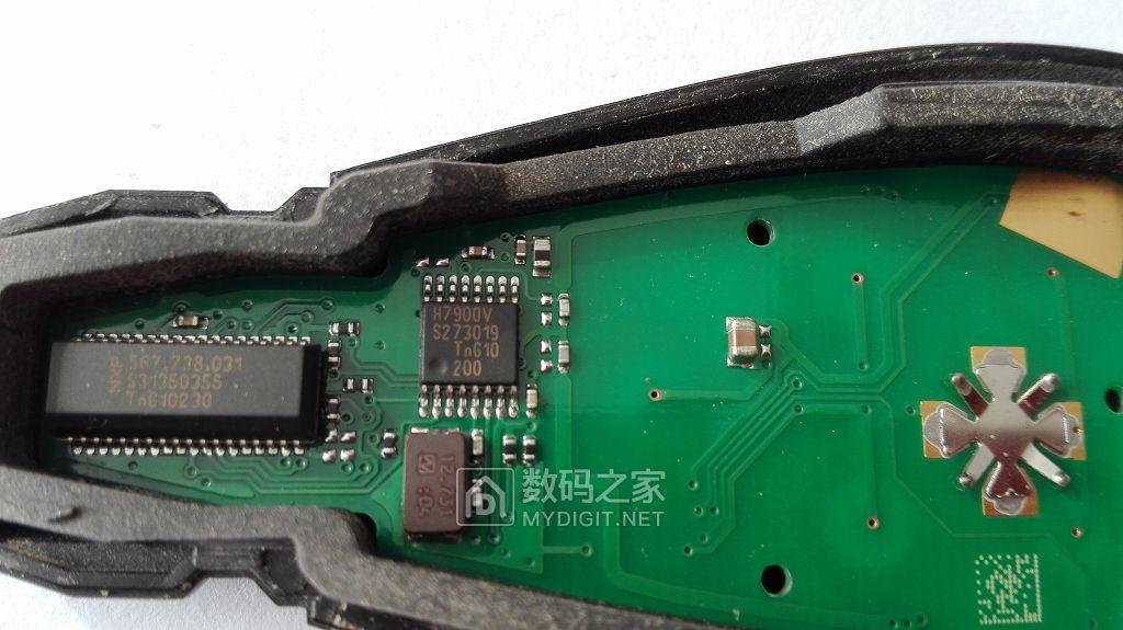 拆修按钮失灵的道奇车遥控钥匙,发现问题并修理,欢迎坛友指正!