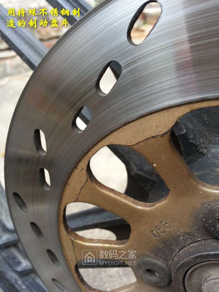 摩托车盘式制动下泵更换制动片图解