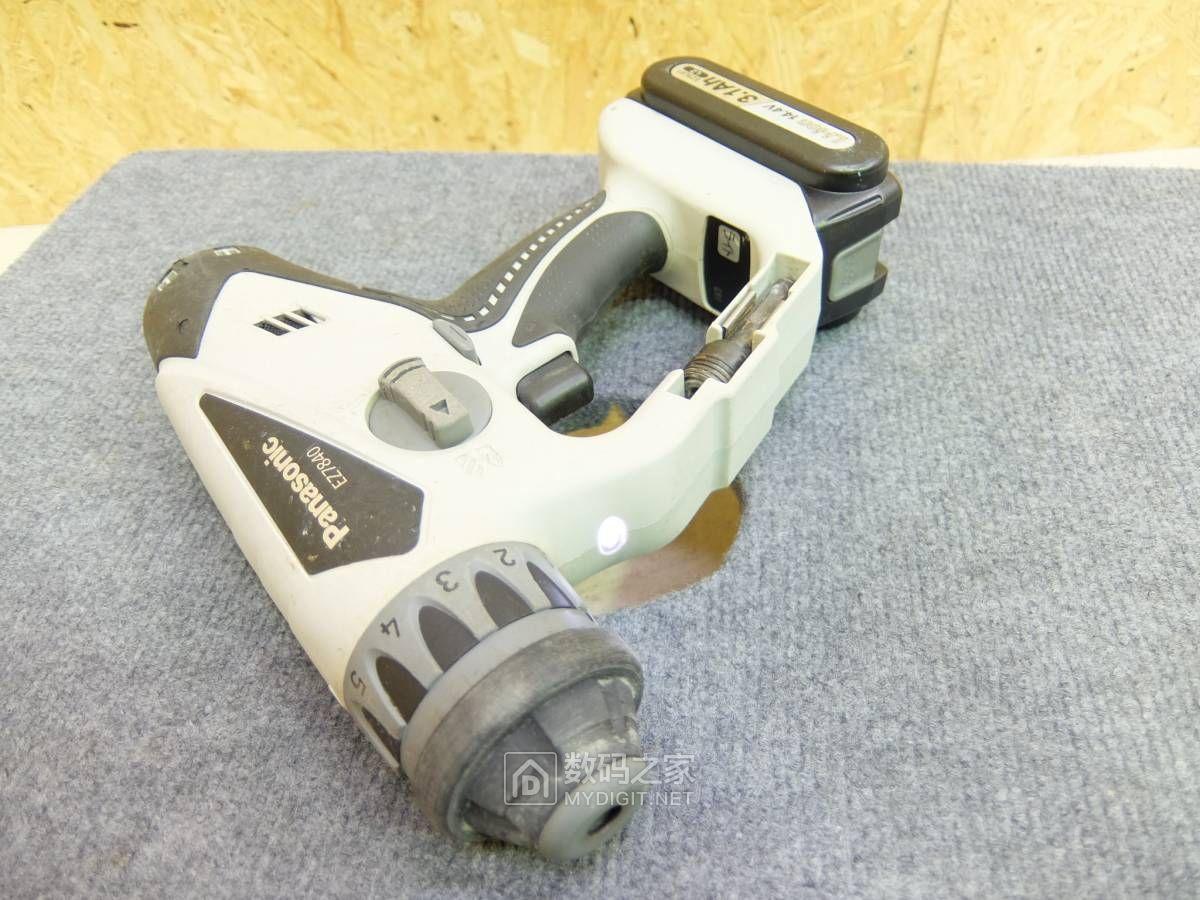 没有对比就没有伤害,拆解+评测松下EZ7840多功能电锤!