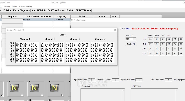 4贴NW711 256GB SLC 考验2246EN极限