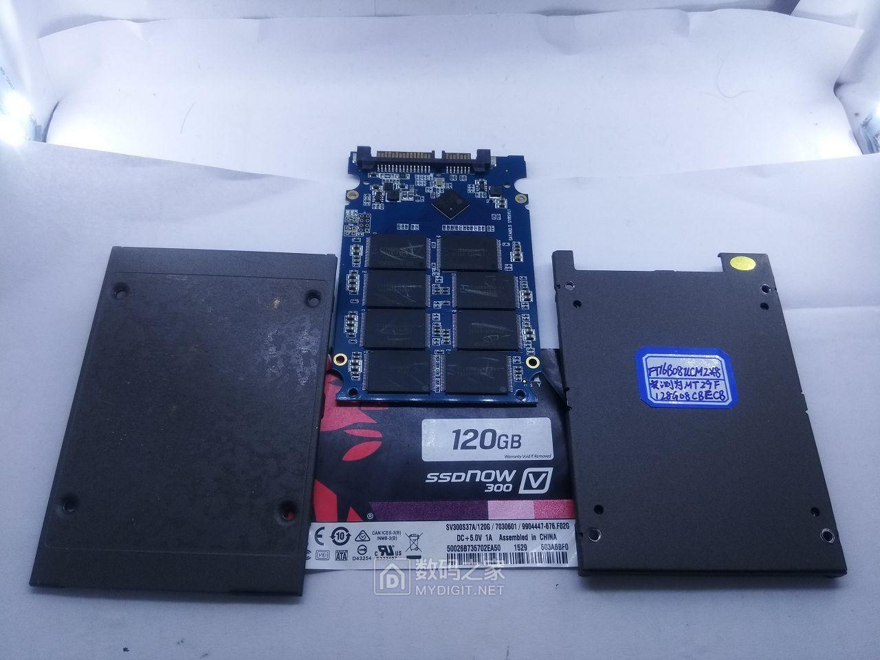 清理几个山寨固态硬盘