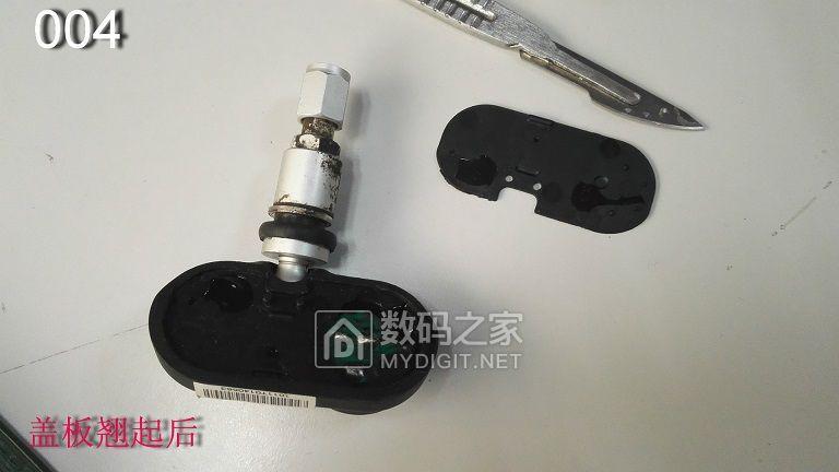 胎压传感器拆解,更换内置电池