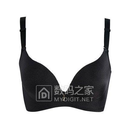 俏丹娜女士内衣无钢圈文胸上薄下厚一片式聚拢调整型胸罩Q2466