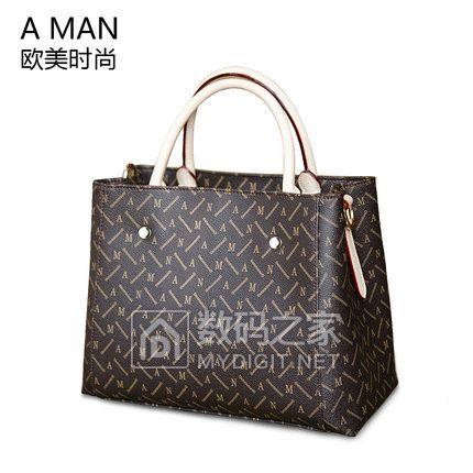 Aman新款2018女包手提包时尚手拎简约夏戴妃女式包包通勤百搭大气