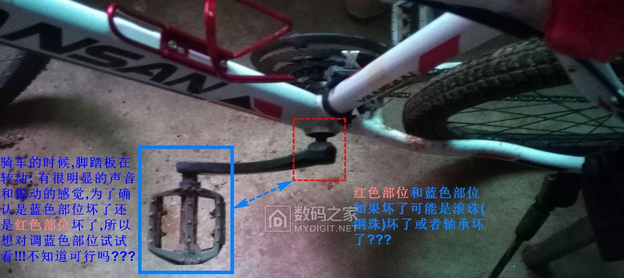 请问各位大师们: 自行车两边的脚踏板可以互相对调吗??以确认问题所在部位。。。