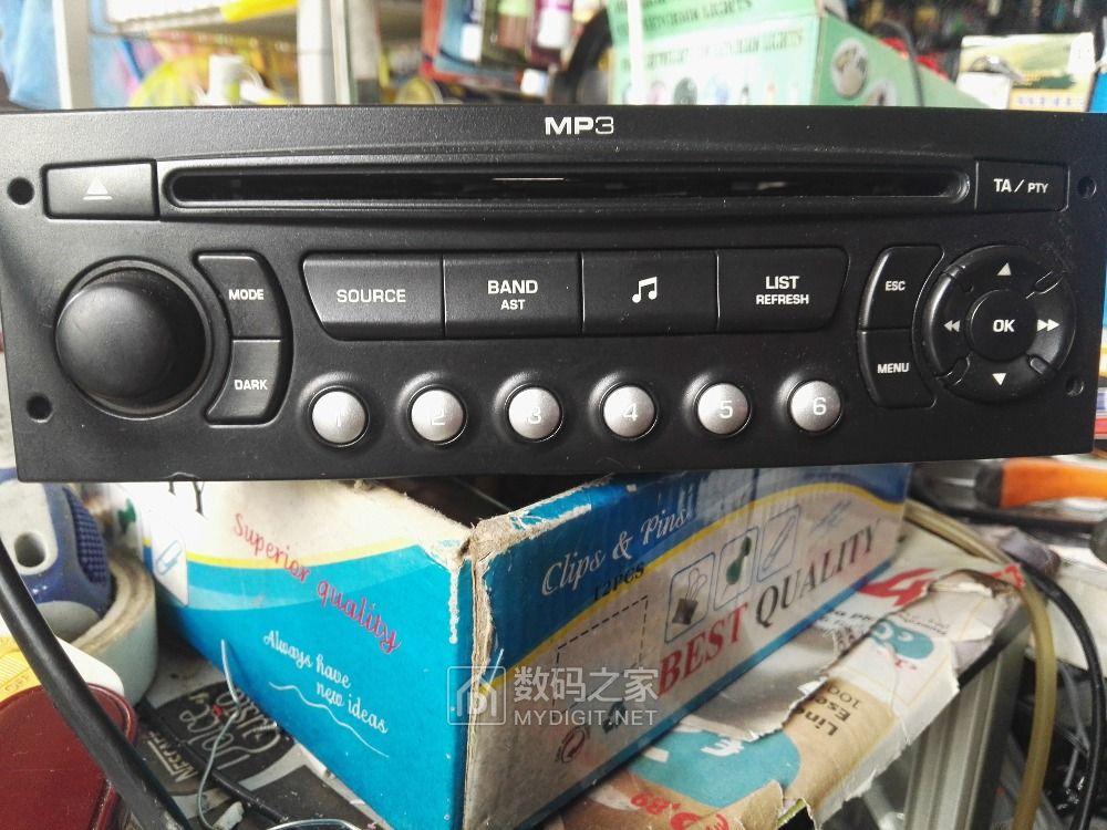 求救 车载CD机加裝AUX输入