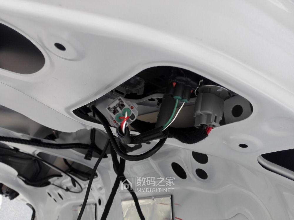 2014款卡罗拉改安卓大屏导航查线及安装作业