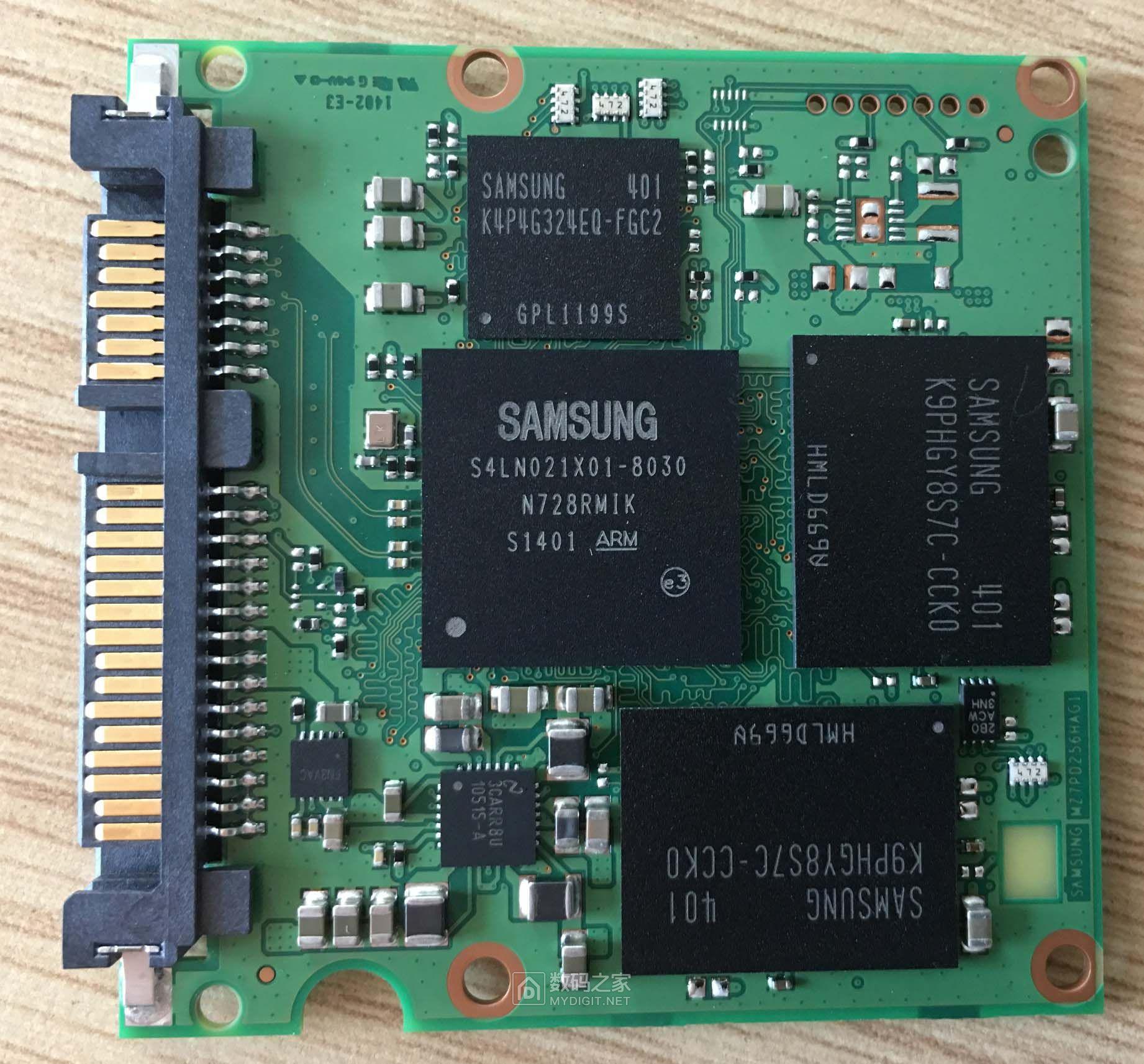 请教sm841n硬盘的芯片及颗粒。