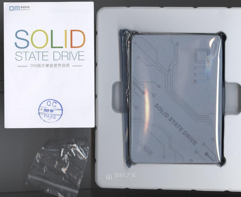 没到618 钱已花光——梁信科技 DM F500 120GB SSD