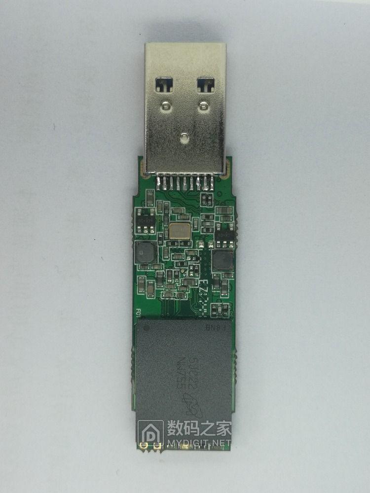 组装一个2246xt U盘 双贴镁光NW755 性能报告和两个疑问